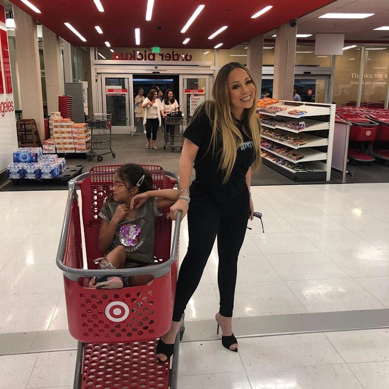 Mariah Carey Let Her Daughter Pick Any Store to Go Shopping, and She Chose Target; Wow, Relatable!