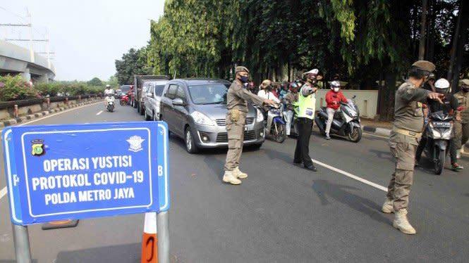 Lalu Lintas Berkurang Selama PSBB Jakarta, Polisi: Banyak Kantor Tutup