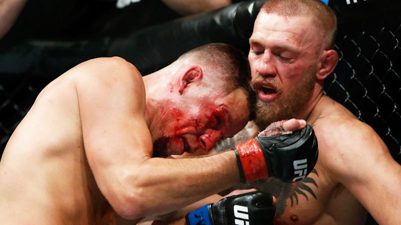 Conor McGregor beat Nate Diaz in their last fight.