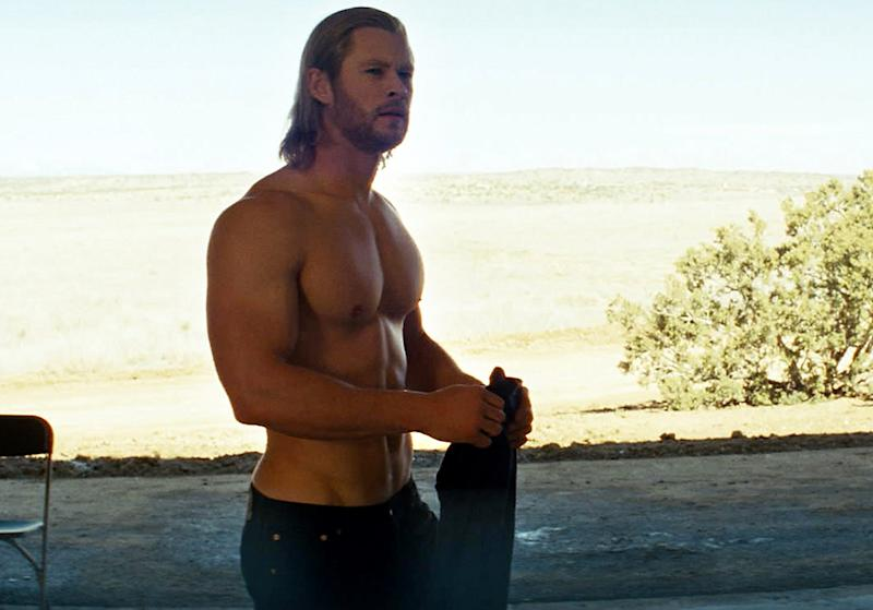 Why Chris Hemsworth Didn't Love Going Topless for 'Thor'