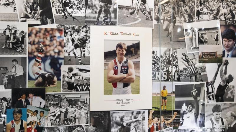 AFL DANNY FRAWLEY DEATH REAX