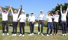高爾夫》台豐男女職業高爾夫對抗賽 女子隊以總積分12:10勝男子隊