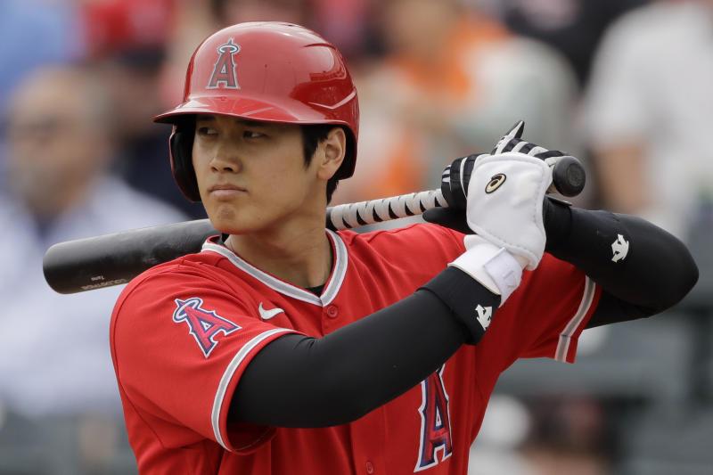 Angels Ohtani Baseball
