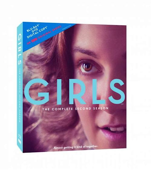 The cover of 'Girls: The Complete Second Season' -- HBO