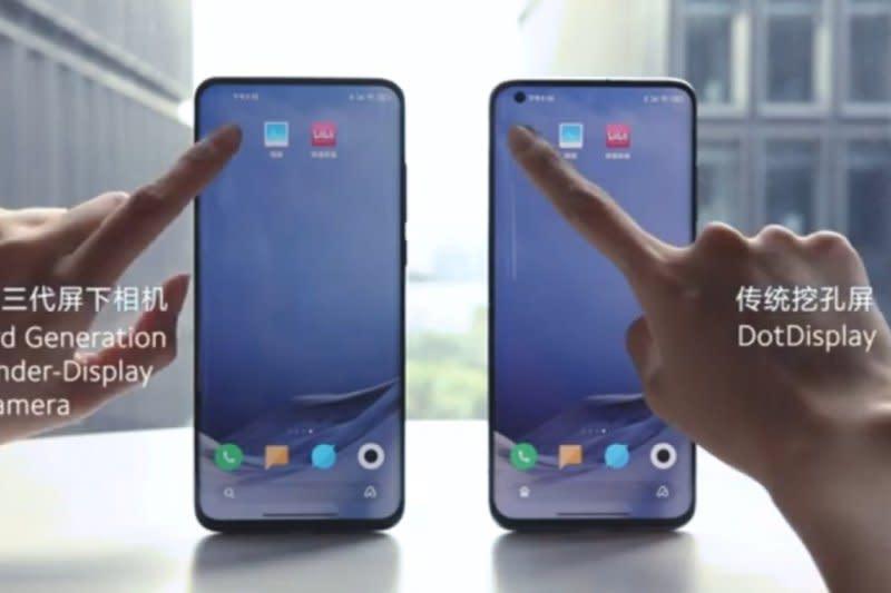 Xiaomi umumkan teknologi kamera bawah layar ponsel