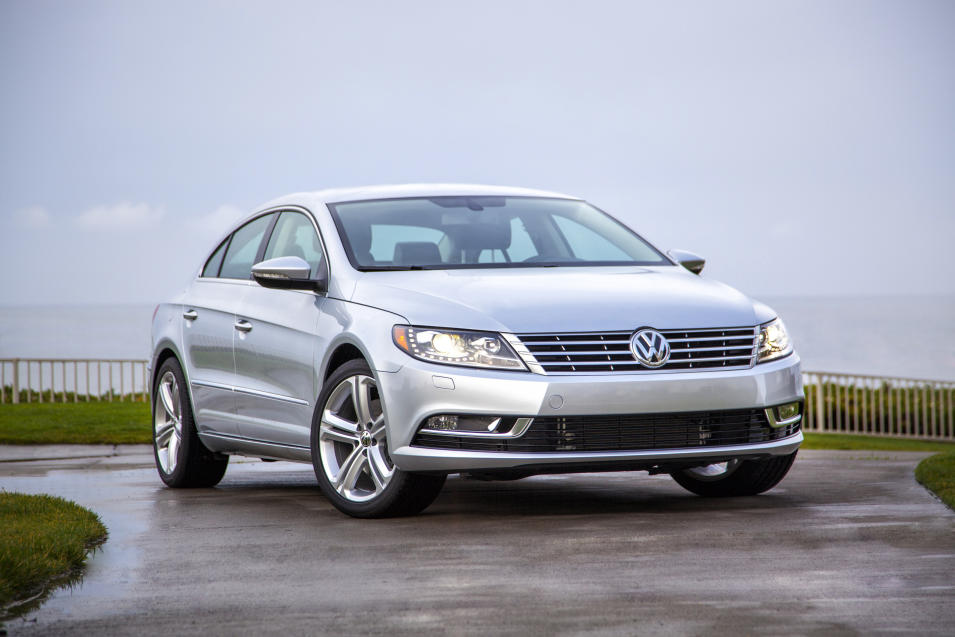 This undated photo provided by Volkswagen shows the 2013 Volkswagen CC Sport Plus. (AP Photo/Volkswagen)