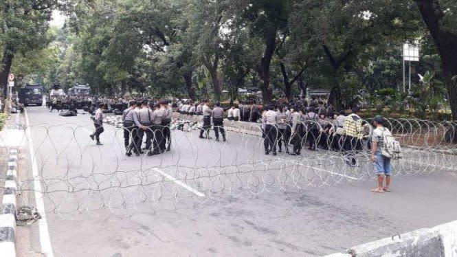 BEM SI Mau Demo Siang Ini, Jalan di Sekitar Istana Ditutup