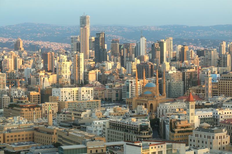 Beirut's skyline.