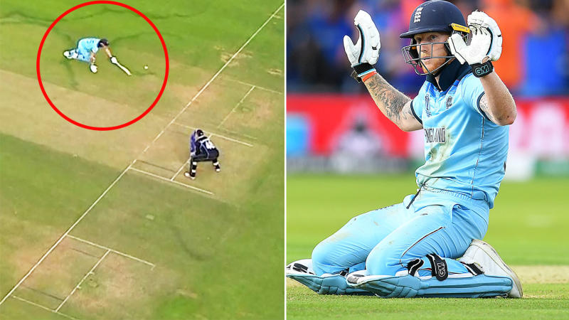 Image result for ben stokes overthrow