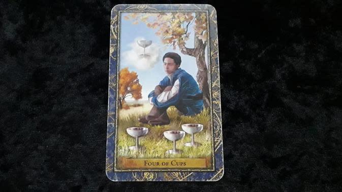 Kartu tarot dalam Tarot Cinta pekan ini (Foto: Elisabet Kusumodewi)