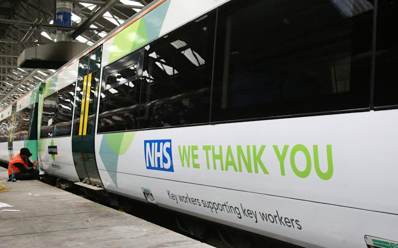 The Government has already taken control of two rail franchises since the start of the coronavirus pandemic - Govia Thameslink Railway