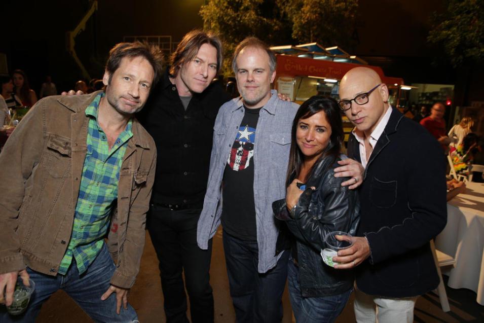 Californication Season 7 wrap party