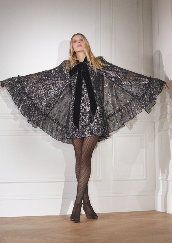 """<p>Gothic princesses rejoice as we have some very exciting news for you: H&M x The Vampire's Wife is almost here. The indie cult brand much loved by celebrities and royals alike has teamed up with the high street giant for its latest designer collaboration, and it's a mighty good one.  </p><p>Following previous successful H&M collabs including <a href=""""https://www.cosmopolitan.com/uk/fashion/style/g23719160/handm-moschino/"""" target=""""_blank"""">Moschino</a> and <a href=""""https://www.cosmopolitan.com/uk/fashion/style/news/g4200/hm-x-balmain-collection-photos-all-the-clothes/"""" target=""""_blank"""">Balmain</a>, The Vampire's Wife collection is perfectly timed to come out just before <a href=""""https://www.cosmopolitan.com/uk/halloween/"""" target=""""_blank"""">Halloween</a>, available to shop in stores and online from October 22nd.  </p><p>Over the last few years, the brand's signature glam Victorian styles have been pretty hard to miss with the likes of <a href=""""https://www.cosmopolitan.com/uk/fashion/celebrity/g3517/kate-middletons-outfits-style-fashion/"""" target=""""_blank"""">Kate Middleton</a>, Alexa Chung and Jennifer Aniston all coveting the ruffled dresses (to name just a fraction of the label's famous fans). Now H&M's bringing the universally loved designs to the mainstream. Get ready to swoon over pieces like the romantic silvery lace cape and black velvet mini dress with giant pussy bow, as well as playful jewellery featuring charms of eyes and vampire teeth. 'Tis the season after all.  </p><p>The brand's founder Susie Cave is the designer and creative director for the collection with H&M, working to make sure the clothing was created as sustainably as possible, too. We've got this date marked firmly in the calendar as we reckon this will be a popular one.</p>"""