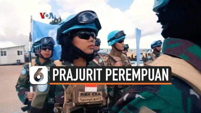 VIDEO: Aksi Prajurit Perempuan Indonesia di Sudan Selatan dan Kongo