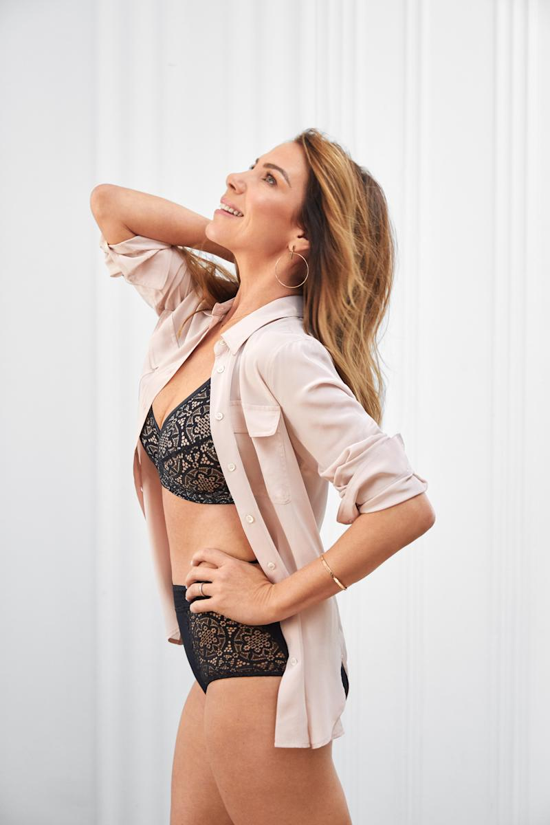 The former Home and Away star is the face of Jockey's Spring/Summer 2019 bra campaign. Photo: Jockey