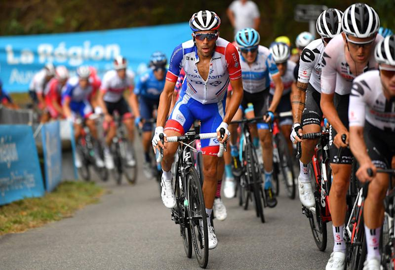 Groupama-FDJ's Thibaut Pinot on the opening stage of the 2020 Critérium du Dauphiné