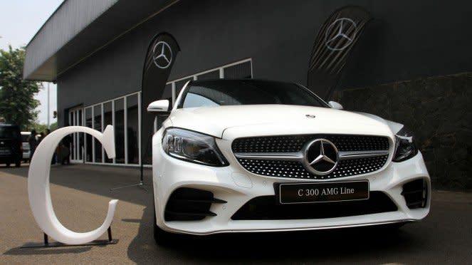 Mercedes-Benz The New C-Class Rakitan Bogor Resmi Diluncurkan, C300 AMG Line