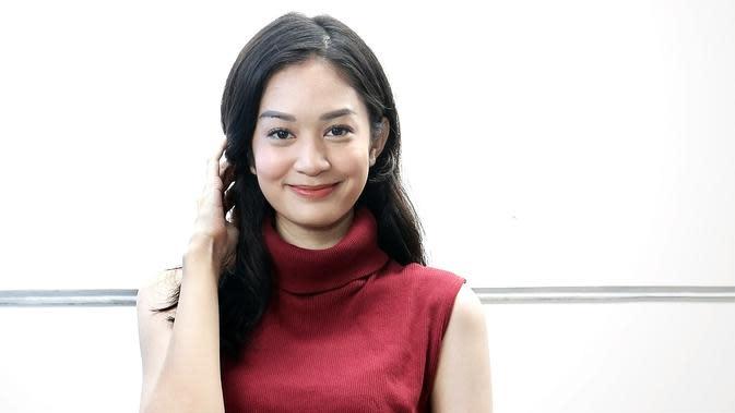 """""""Pasti kalian semua kangen kan?"""" ujar Faradilla Yoshi mengenai perannya dalam sinetron Bawang Putih Berkulit Merah yang pernah tayang di ANTV pertengahan Januari 2020. (Bambang E Ros/Fimela.com)"""
