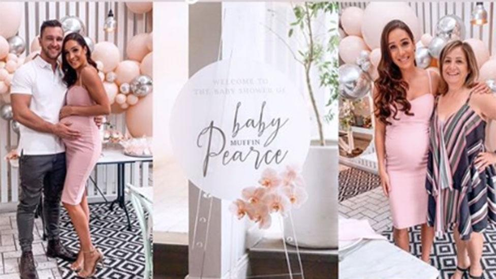 <p>Kayla and Tobi are set to welcome their first child in May. Photo: Instagram/kaylaitsines </p>