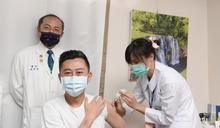 林智堅接種AZ疫苗 呼籲共同構築防護網