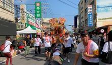 南瑤宮媽祖鑾駕回鑾 市區信眾膜拜祈福