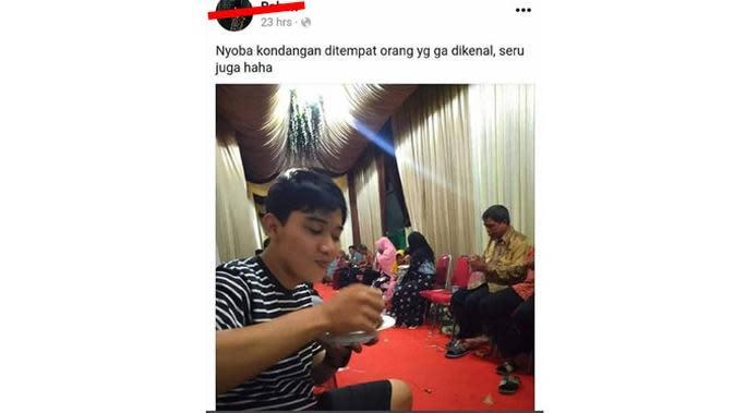 5 Status Facebook Tentang Nikahan Ini Bikin Geleng Kepala (sumber: Instagram.com/receh.id)