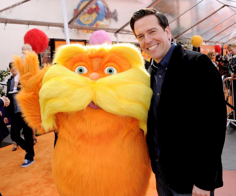 "Premiere Of Universal Pictures And Illumination Entertainment's 3D-CG ""Dr. Seuss' The Lorax"" - Red Carpet"