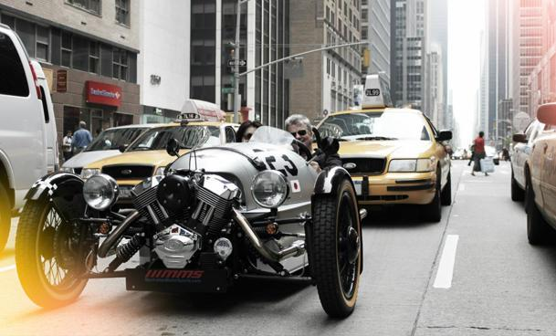 How one couple went 3,500 miles in a Morgan 3 Wheeler coast to coast
