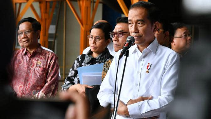 Jokowi Pamer Desain Ibu Kota Baru ke Pengurus Partai Bulan Bintang