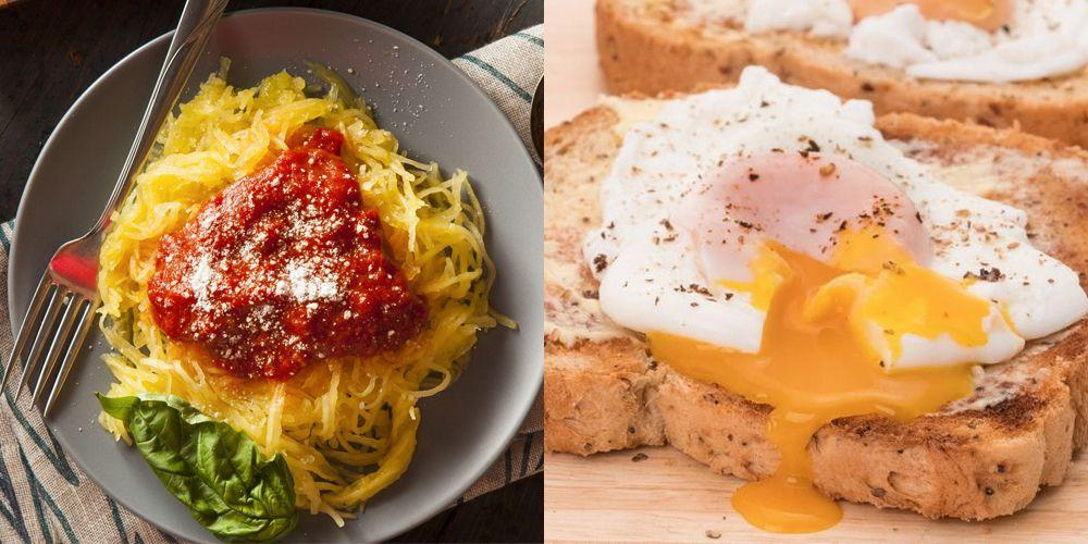 """<p>Microwaves are often just as thoroughly used in kitchens as hot ovens and stove-tops, if not more; yet, many home cooks (even experts!) are afraid of using the microwave beyond <a href=""""https://www.goodhousekeeping.com/food-recipes/cooking/tips/a20707/reheating-pizza/"""" target=""""_blank"""">heating leftovers</a> or <a href=""""https://www.goodhousekeeping.com/food-recipes/easy/g4900/easy-make-ahead-meals/"""" target=""""_blank"""">frozen ready-to-eat meals</a>. The truth is that many delicious items can be perfectly steamed or """"baked"""" in a microwave if you should find yourself in a pinch. Maybe it's just because you forgot to defrost your meats, have discovered you are missing a key ingredient, or don't have time to preheat the oven, but you don't <em>have</em> to reach for a takeout menu if you have a microwave at home. And even if you just don't feel like making too much of a mess or a fuss (we've all been there), your microwave can help you get something on the table, fast.</p><p>It's hard to make an <em>extravagant</em> meal using your microwave alone, but there are many lightning-fast staples you can enjoy for breakfast, a quick lunch, or a simple dinner on the fly. And dessert lovers will be very pleased to hear there are a few ways to create <a href=""""https://www.goodhousekeeping.com/food-recipes/dessert/g757/cake-recipes/"""" target=""""_blank""""><em>ooey</em>, <em>gooey</em> cake</a> without even touching your oven dial. Raw meat may be too intimidating to tackle in a microwave given its complex texture and flavor profile, but you can actually get a good steam on seafood. Steaming is also a boon for fresh vegetables you might have in your crisper as well as those extra eggs as well.</p><p>Worried about making your snack or quick bite """"radioactive,"""" so to speak? Don't be! Microwaves don't use gamma rays or x-rays to cook food, and when they are used according to instructions, there isn't evidence that suggests they pose any risk to your health, according to the <a href=""""https://www"""