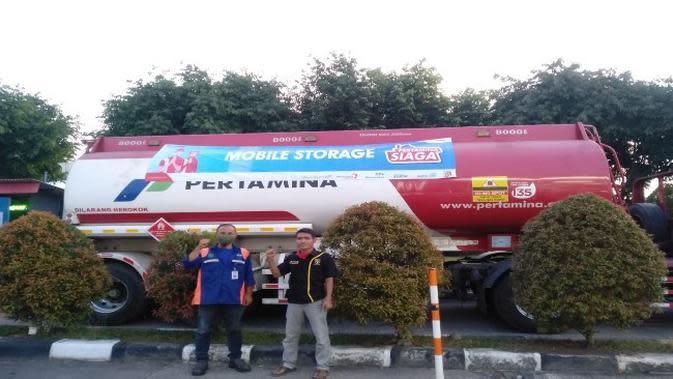 Pertamina pastikan pasokan BBM untuk pengguna jalan tol di Jawa Barat aman. Foto (Istimewa)