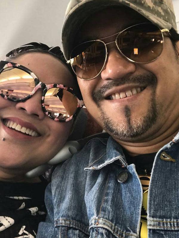 Tri Retno Prayudati atau yang lebih dikenal dengan nama Nunung menikah dengan Iyan Sambiran yang adalah manajernya sendiri pada 2012 silam. (Liputan6.com/IG/@nungers63.id)
