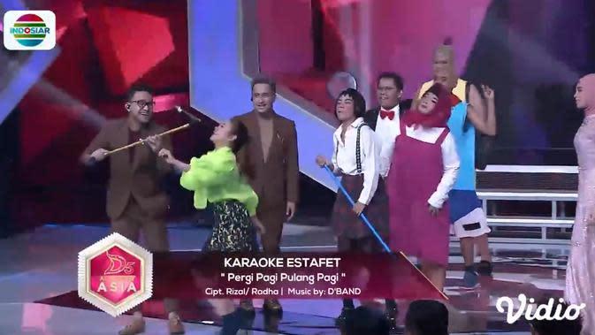 Serunya Karaoke Estafet Di D'Academy Asia 5