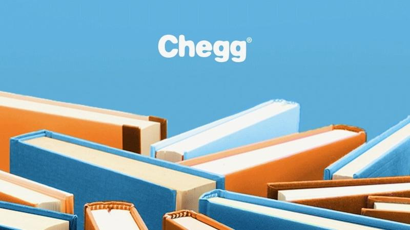 Logo screenshot from Chegg Facebook page