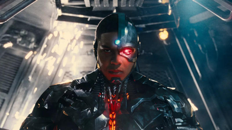 Ray Fisher as Cyborg in 'Justice League'. (Credit: Warner Bros/DC Comics)