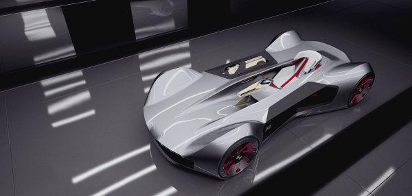 充滿未來感的寶馬 ! 設計師描繪BMW H2 Concept想像圖