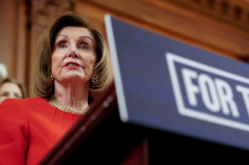 Pelosi spokesman dismisses Facebook decision to remove some manipulated videos