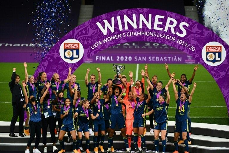 Dominant Lyon beat Wolfsburg to claim fifth straight Women's Champions League title