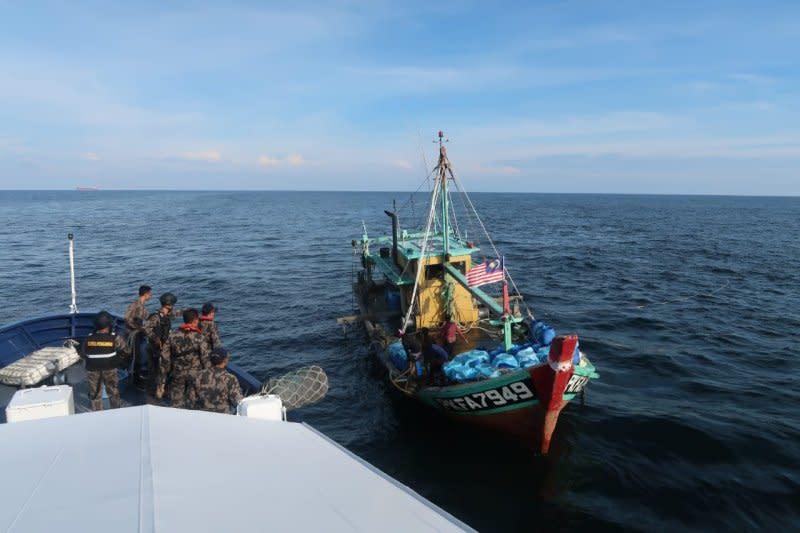 KKP tangkap kapal ikan asal Malaysia di Selat Malaka