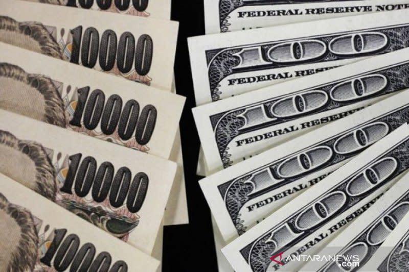 Kekhawatiran virus corona dorong yen menguat terhadap dolar AS