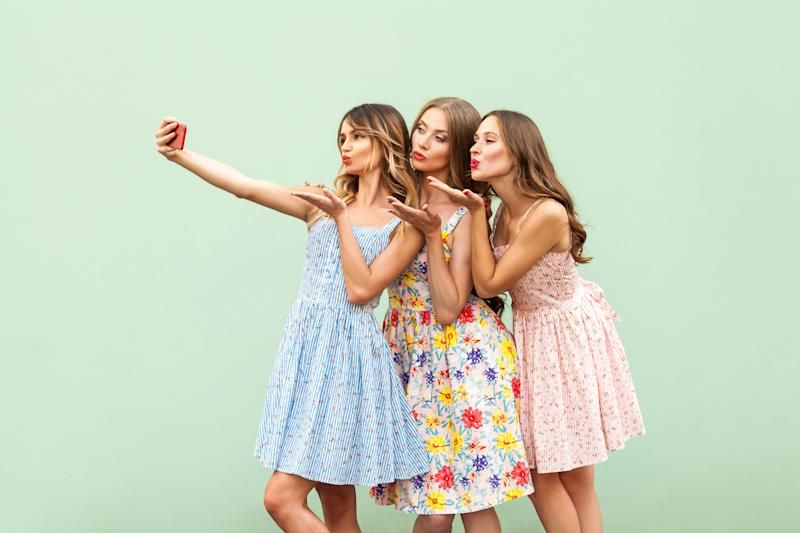 New research has studied when selfies become an issue for teenage girls (Getty)