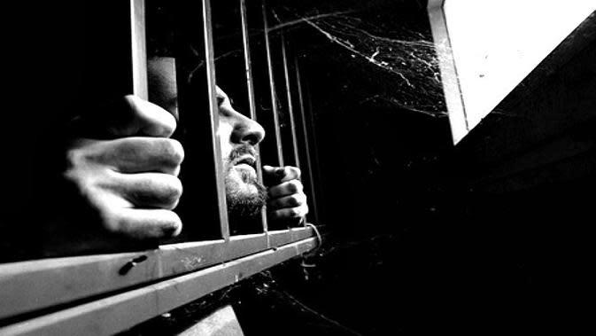 Ilustrasi Napi di Penjara