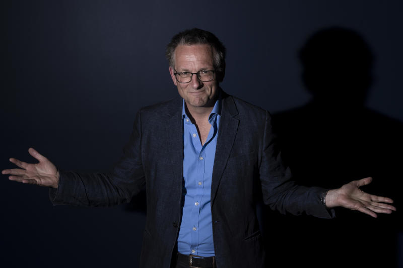 SYDNEY, AUSTRALIA - SEPTEMBER 16: Dr Michael Mosley poses for a photo at the ICC Sydney on September 16, 2019 in Sydney, Australia. The Centenary Institute Oration is part of the 14th World Congress on Inflammation. (Photo by Brook Mitchell/Getty Images)