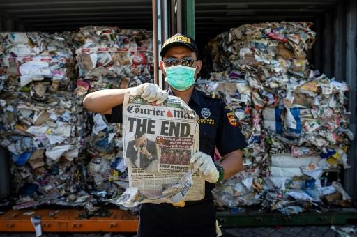 Australia pledges to stop exporting its rubbish