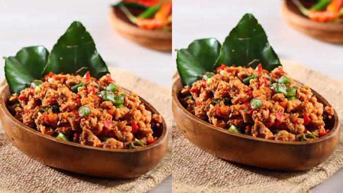 Resep Tumis Oncom Leunca untuk menu makan siang. (Via: halhalal.com)