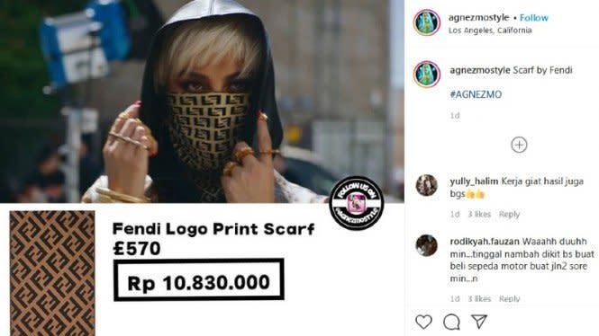 Wow! Agnez Mo Pakai Masker Rp10 Juta di Klip Terbarunya