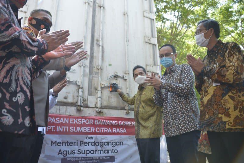 Mendag lepas ekspor 20 ton bawang merah goreng ke Malaysia
