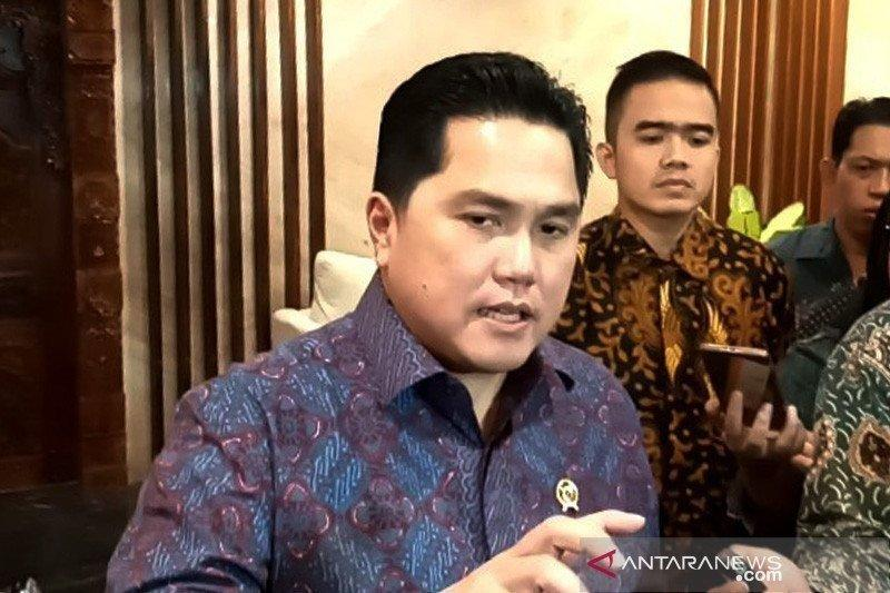 Erick Thohir rombak direksi-komisaris PT Perusahaan Pengelola Aset