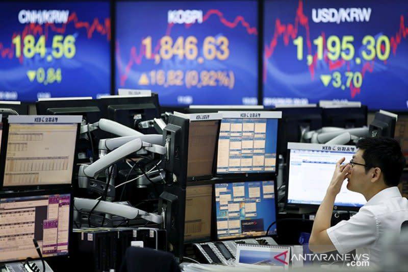 Bursa saham Seoul berakhir menguat 0,07 persen