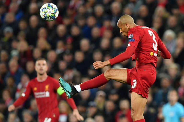 Powerful presence: Fabinho has become Liverpool's key midfielder